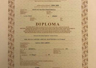 Diploma ITIS